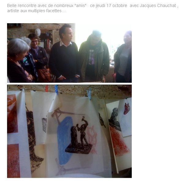 L'atelier de JACQUES CHAUCHAT