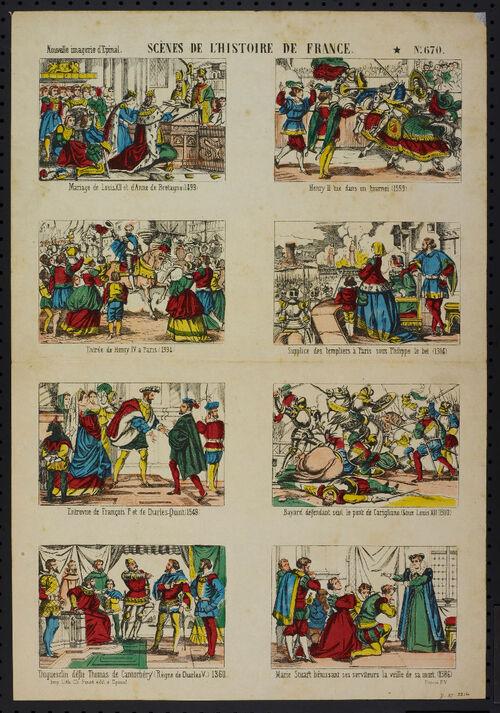 Le grand Almanach de la France : L'imagerie d'Epinal