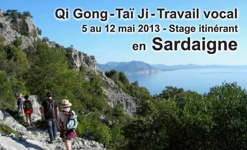 La Beauté du Geste - Stage en Sardaigne