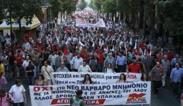 Pour le PC de Grève (KKE) pas de reddition ! Le combat de classe est le chemin pour s'en sortir!