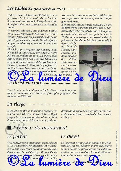 Manosque : Église Notre-Dame de Romigier