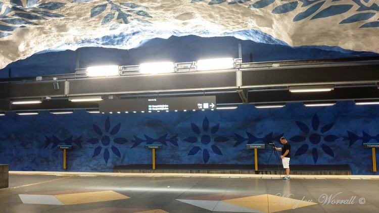 Suède : Stockholm le métro