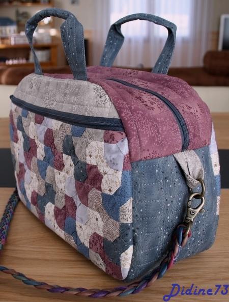 SAL sac japonais étape 5 : finition vue de biais 1