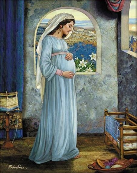 Mary Mother Of God - by Michael Adams