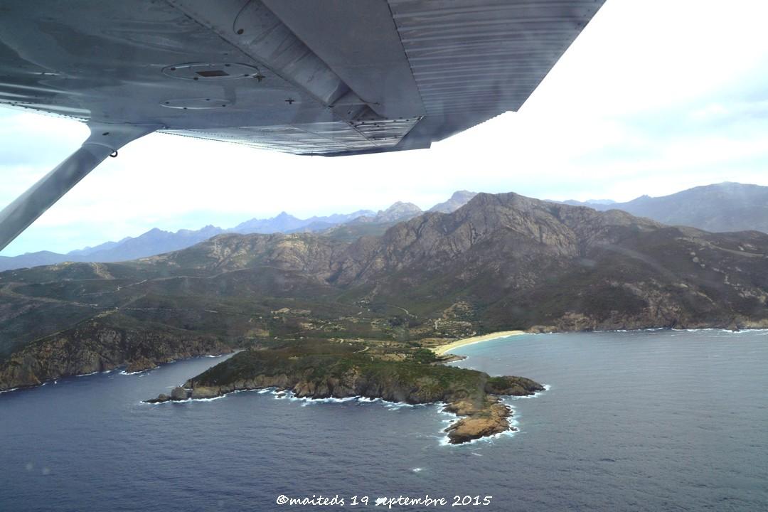 Mon survol de la Corse 2015 1) Les plages