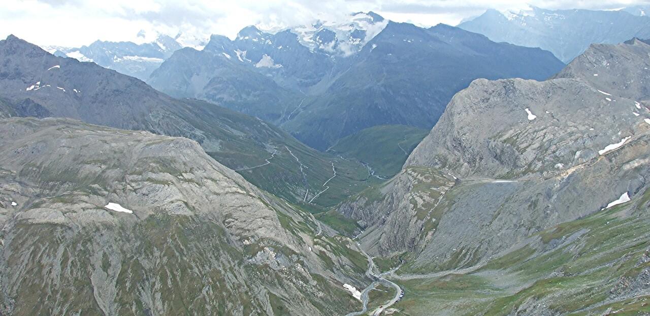 Alpes 8 / l'Iseran , le plus haut col routier européen (1)