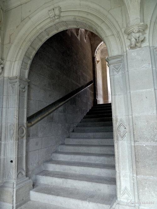 Château d'Azay-le-Rideau - L'escalier (2)
