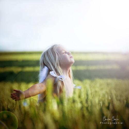 L'ange & les blés | Série photographique