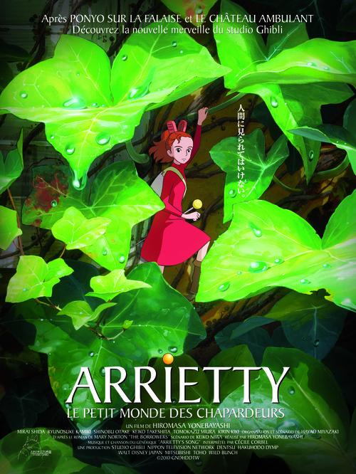 Arrietty et le Petit Monde des Charpadeurs !