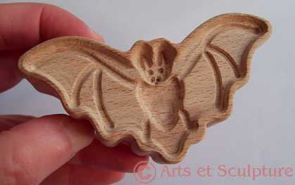 tampon biscuits chauve-souris