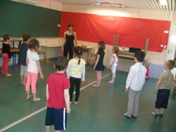 Ca danse en grande section!