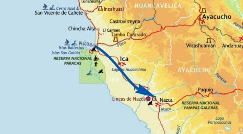 Nazca, 1er septembre 2014, après-midi