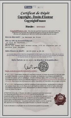 Copyright France       pour : LA NUIT DU CENTAURE