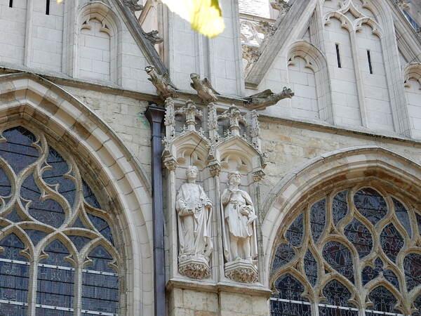 Fin de la visite de Notre Dame du Sablon