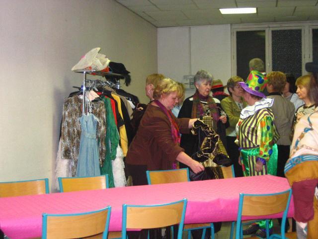 Samedi 9 février 2008, une soirée crêpes et déguisements pour le pot de l'Amitié
