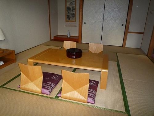 Etre reçu dans un foyer japonais