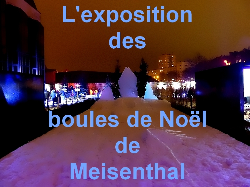 Metz / Promenade sur le sentier des lanternes de Noël 2014...