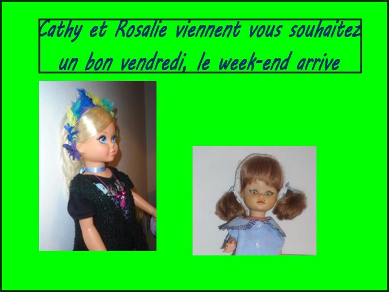 Bon vendredi de Cathy et Rosalie