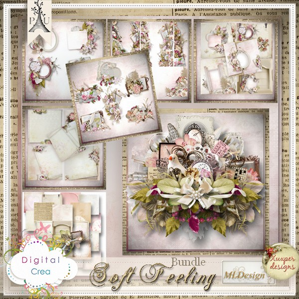 """Soft Feelings"" by MLDesign & Xuxper Designs"