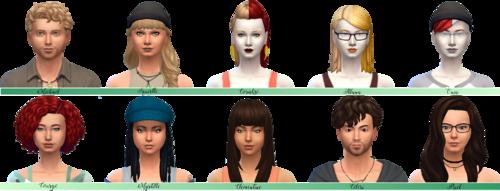 "[En-Sims / Gameplay + ""Moi-Je""] LegaClifford : Check"