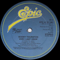 Bobby Thurston - Very Last Drop