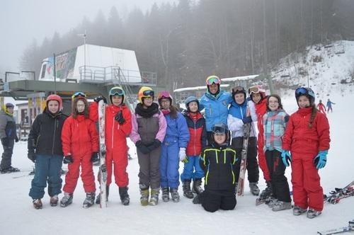 Jour 4: tout le monde dans les montagnes!