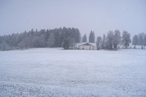 Dans la blancheur des Franches-Montagnes