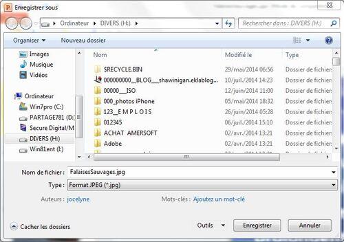 Enregistrer toutes les images d'un fichier.pps