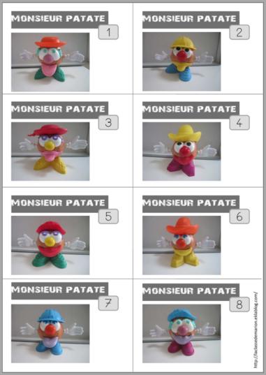 Défi Monsieur Patate
