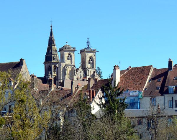 Visite de Semur-en-Auxois avec Régine
