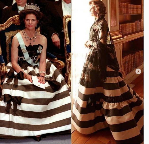 Silvia, reine de Suède ! bientôt 75 ans
