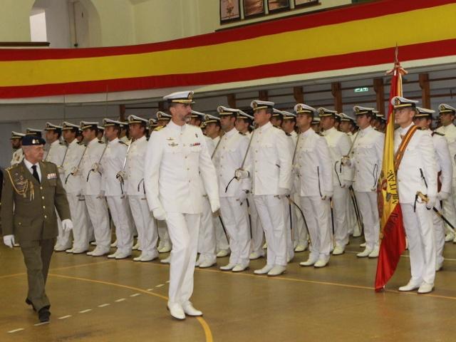 Felipe et la marine