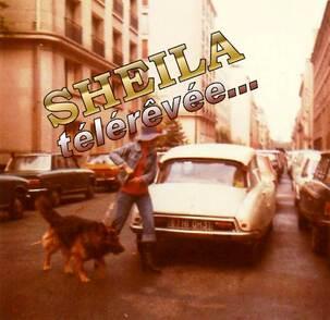 Printemps 1974, Sheila et Tom rue Jean-Goujon.