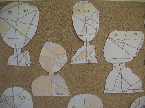 Le portrait en arts visuels et les cp