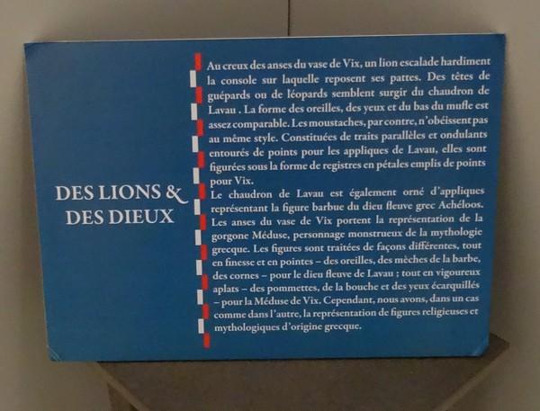 Prince de Lavau, Princesse de Vix...souvenirs d'une superbe exposition au Musée du Pays Châtillonnais-Trésor de Vix