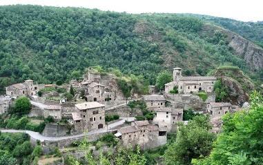 Vue du village de Malleval 1