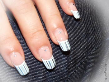 Nail art dentifrice (^_^)