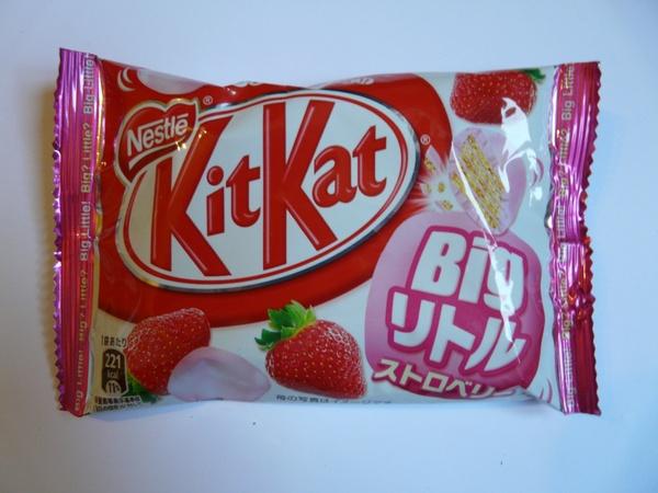 Kit Kat à la fraise !
