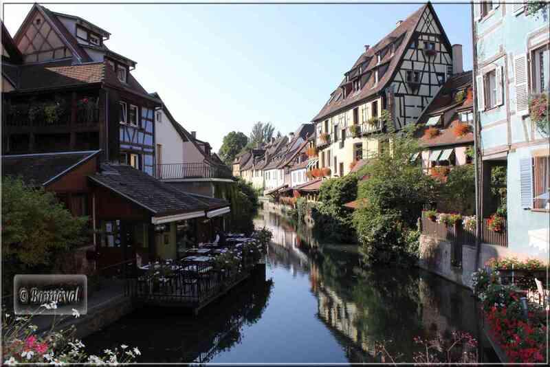 Colmar, l'Esprit de l'Alsace Petite Venise quartier Krutenau