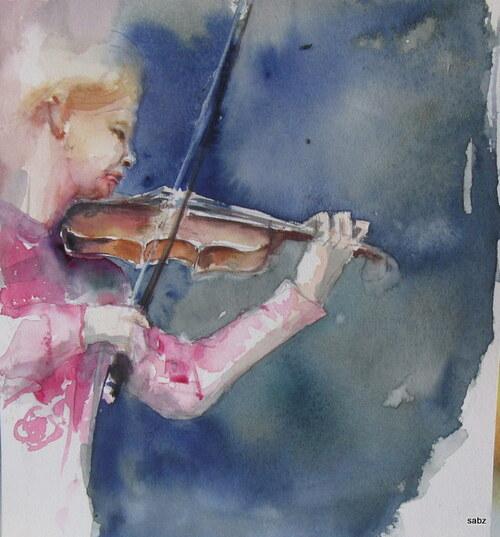violon à l'honneur