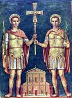 Saints Nabor et Félix. Martyrs à Lodi, en Lombardie († v. 304)