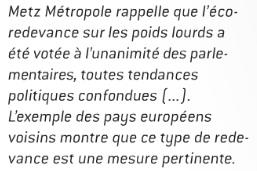 Metz Métropole le mag' de janvier 2014