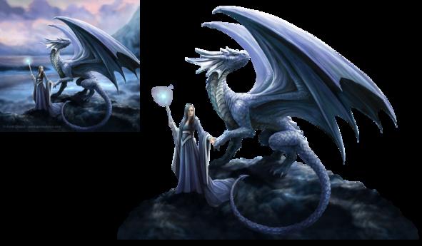 dragon - femme au dragon