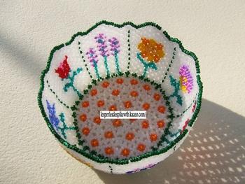 Petit Saladier Fleurs (2)