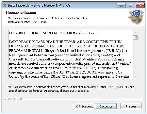 Malware Hunter Pro - Licence 1 an gratuit