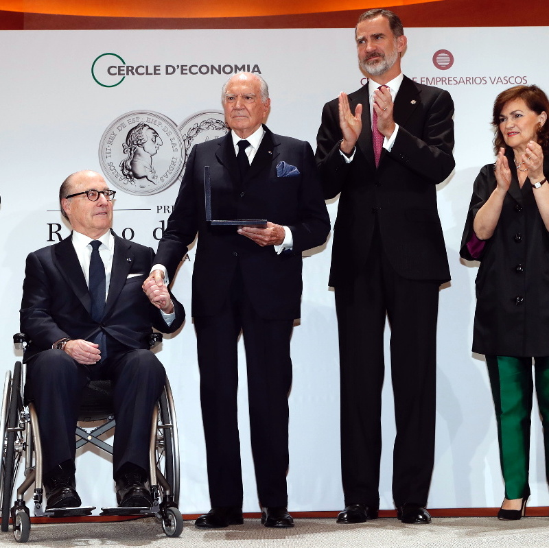 """Premio """"Reino de España a la Trayectoria Empresarial"""""""