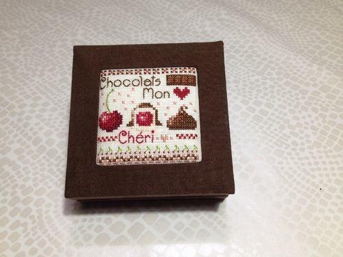 mini boite à chocolats