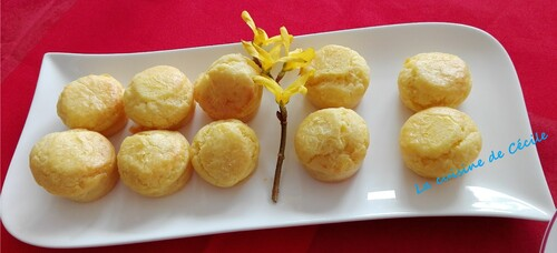 Mini muffins au fromage
