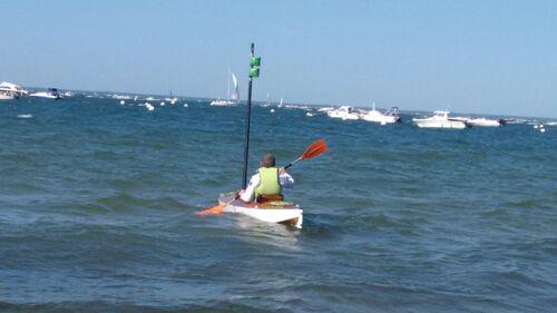 9/ Premier essai  en mer  la flottabilité ?