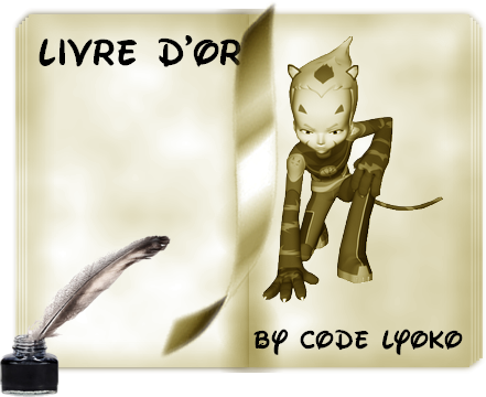 Livre D'or by Code Lyoko